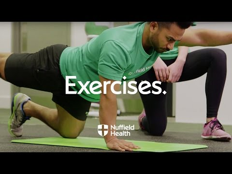 How to Perform a  Wide Stance Plank | Nuffield Health