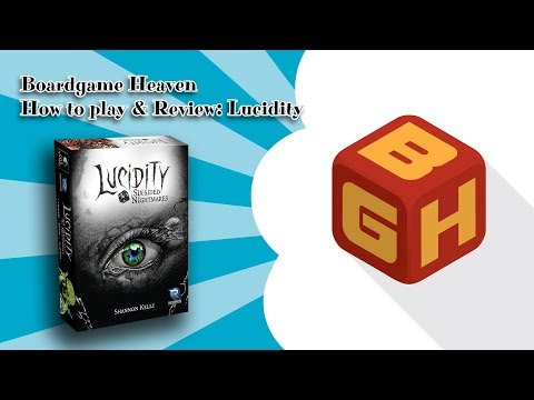 Boardgame Heaven How To Play & Review: Lucidity