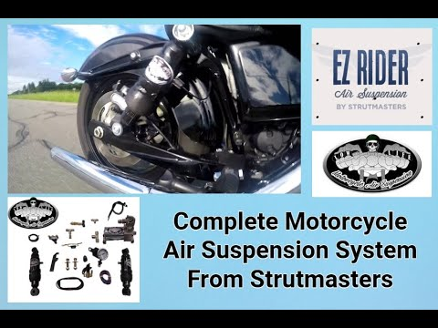 New LowLife Motorcycle Air Shocks With One Inch Bump Stop From Strutmasters