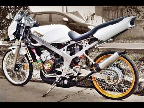 Video Motor Trend Modifikasi | Video Modifikasi Motor Kawasaki Ninja R 150 Drag Style Terbaru