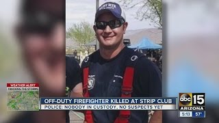 Fellow firefighters remember 12-year veteran killed after fight at strip club