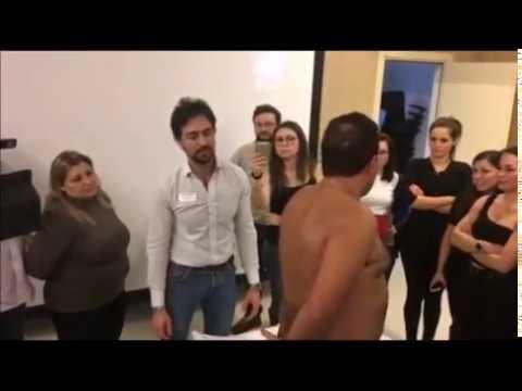 Massaggio al LFK osteocondrosi cervicale