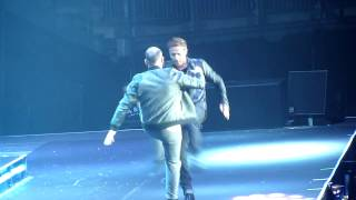 911 - Bodyshakin, Party People/Love Sensation & More Than A Woman - O2 Arena 14.12.13