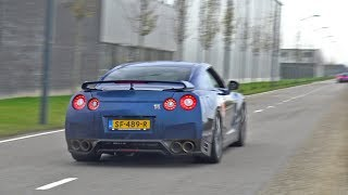 Nissan GT-R R35 with LOUD Armytrix Exhaust System!