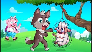 BaBoBi Rescue Team 🐼 Episode: Mission To Rescue The Lamb 🐒 Video For Kids 🐷