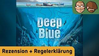 Deep Blue - Brettspiel - Review und Regelerklärung