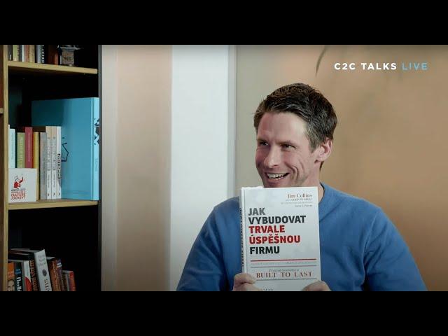 C2C Talks - Tomáš Vránek, nejlepší knihy roku 2020