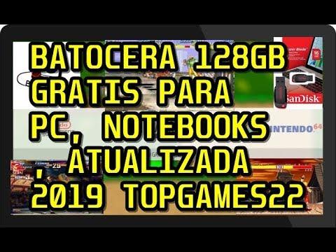 Batocera Pc 2019 Imagem 128GB GRÁTIS - 58 Sistemas + PS2