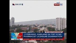 BP: 2 Cebuano, kabilang sa top 10 ng pharmacist licensure examination