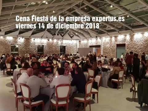 Cena y Fiesta de la empresa Expertus.es