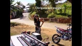 preview picture of video 'Brenda L. #231 - Pista de Motocross Ibirité .'