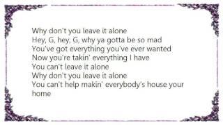 BR5-49 - Leave It Alone Lyrics