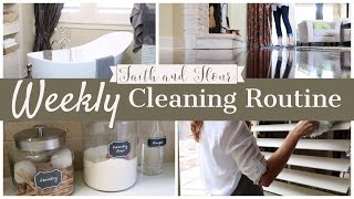 Weekly Cleaning Routine | What I Clean Every Week | Speed Cleaning Motivation