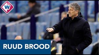 ADO-trainer Ruud Brood na Vitesse - ADO: 'We hebben het prima gedaan' - OMROEP WEST SPORT