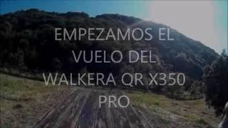Walkera qr x350 pro Volando en Area Regreativa FulHD