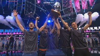 ESL One Cologne 2017. SK-gaming are the champions! 3:0 vs Cloud9 Grand final Winning moment CAMPEÃ
