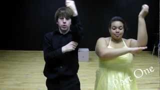 Tutorial - Ashley Tisdale & Lucas Grebeel - Bop To The Top Choreography