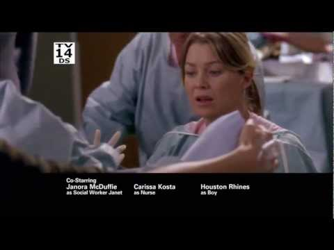 Grey's Anatomy 8.06 (Preview)