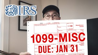 How to File 1099-MISC // Tax for Photographers