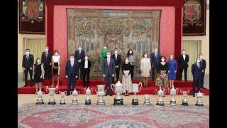 Sus Majestades los Reyes presiden la entrega de los Premios Nacionales del Deporte 2018
