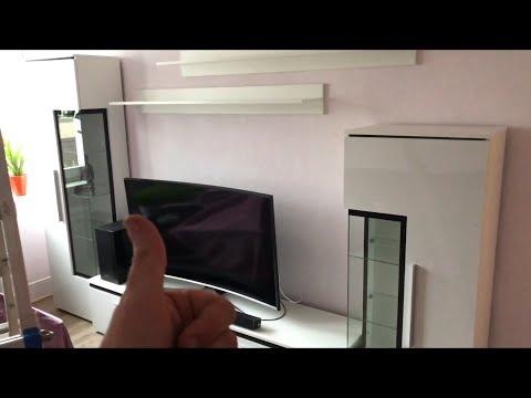 Wohnwand montieren ausrichten und Türen einstellen Schrankwand Montage Anbaureihe Anleitung