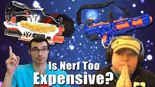 Is Nerf Too Expensive? | Tag Talk Episode 1 Ft. WalcomS7