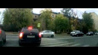 аварии и ДТП на видеорегистратор октябрь 2014