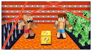 RIESCI A SCAPPARE USANDO SOLO I LUCKY BLOCK? - Minecraft ITA