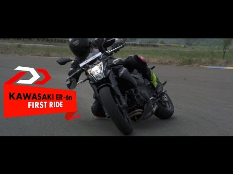 First Ride l Kawasaki ER-6n l PowerDrift
