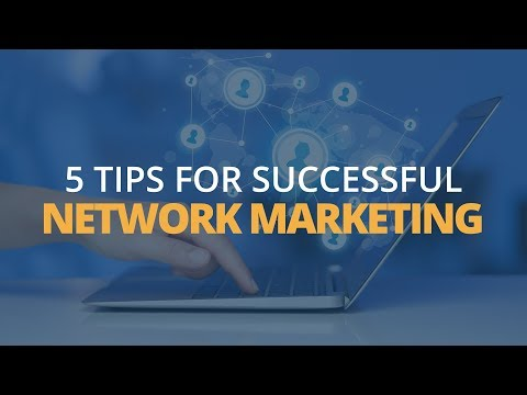 Tips for Network Marketing Success | Brian Tracy