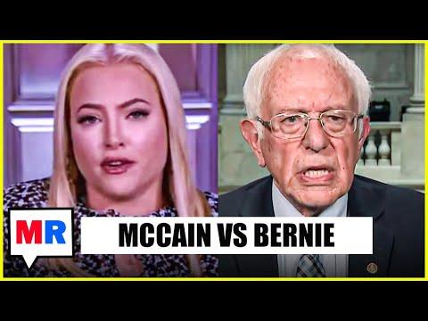 Meghan McCain Idiocy Almost Consumes Bernie Sanders