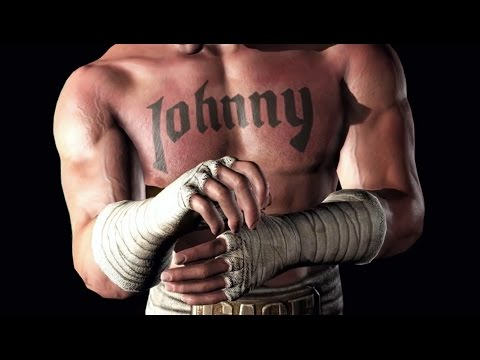 WWE Immortals - Johnny Cage Gameplay