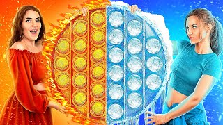 Hot vs Cold Stress Relievers in Prison! How to Sneak Pop It