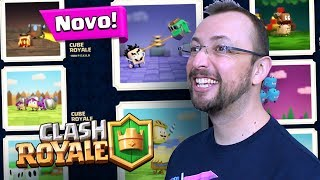 14 CARTAS CUBE ROYALE - Animação Coreana do Clash Royale