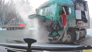 Подборка жестких аварий Февраля (первая неделя) Channel Жёсткие аварии