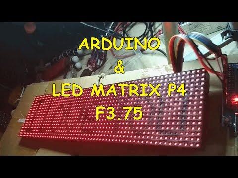 16x64 Bluetooth Audio Spectrum Analyzer Using Arduino and Max7219