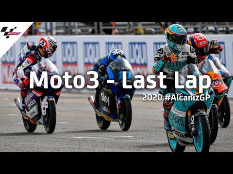 Moto3 テルエルGP 第迫力のラストラップの様子を見るハイライト動画