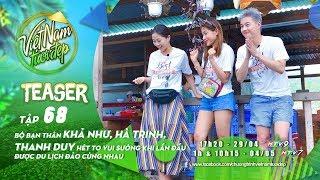 Teaser | Hội Bạn Khả Như, Hà Trinh, Thanh Duy Hét To Vui Sướng Khi Lần đầu Du Lịch đảo Cùng Nhau