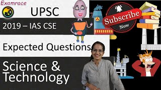 ❗ Expected Questions on Science & Technology 2019 (UPSC CSE/SSC/IBPS) Most Important