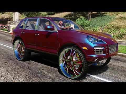 Porsche Cayenne S on 32 inch Wheels -
