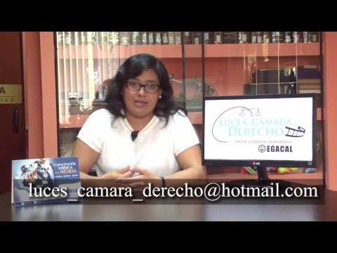 Programa 09 - El nuevo régimen sobre la conversión de penas - Luces Cámara Derecho - EGACAL