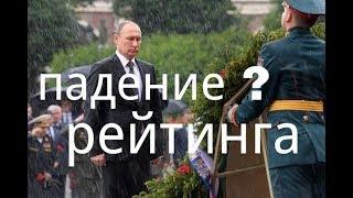 Крым Резкое падение рейтинга Путина рейтинг Петра Алексеевича растет
