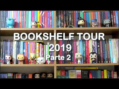 BOOKSHELF TOUR 2019 (Parte 02) | Tour pela Minha Estante