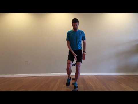 Single-leg Forward Hop-Over-Objects