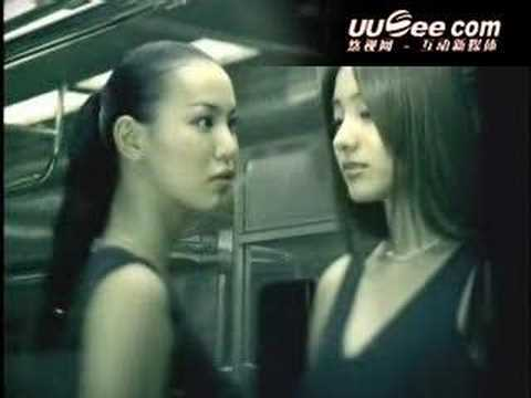 two sexy girls in BUS