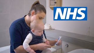 How do I brush my child's teeth? (6 months to 7 years) | NHS