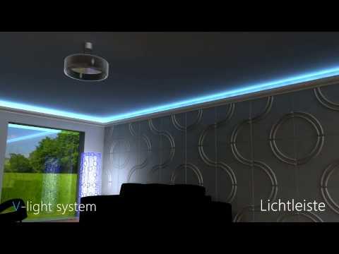 Led Lichtleiste - Direkte und Indirekte Beleuchtung