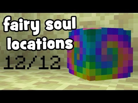 ALL 12/12 End Island - Fairy Soul Locations | Hypixel Skyblock