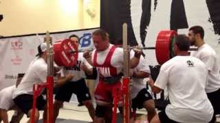 Dan Green WORLD RECORD SQUAT 783lbs @ 220 lbs @ RUM7