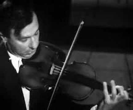 Video: Nathan Milstein plays Paganini's Caprice No  5